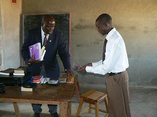 The church in Malawi reaches out to prisoners.