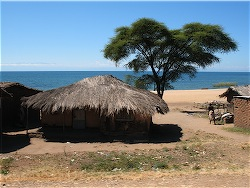 Village on lake Malawi